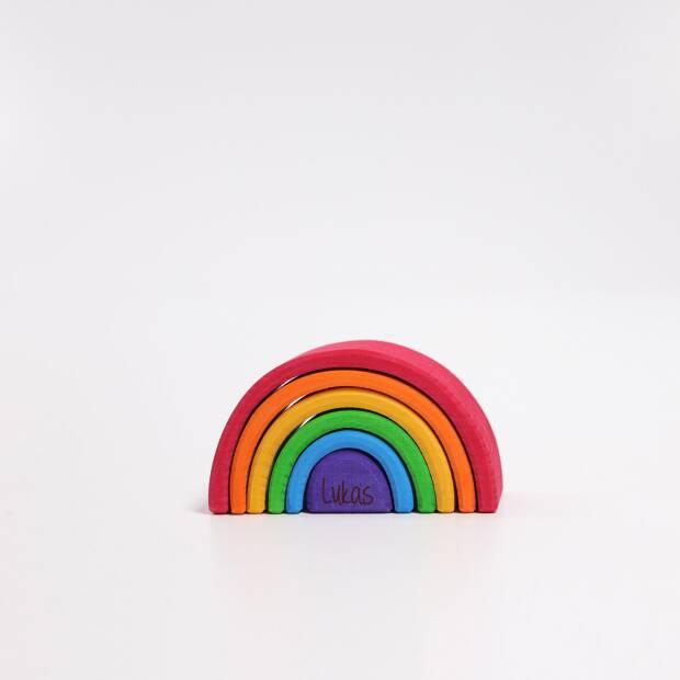 Regenbogen klein mit Deinem Namen