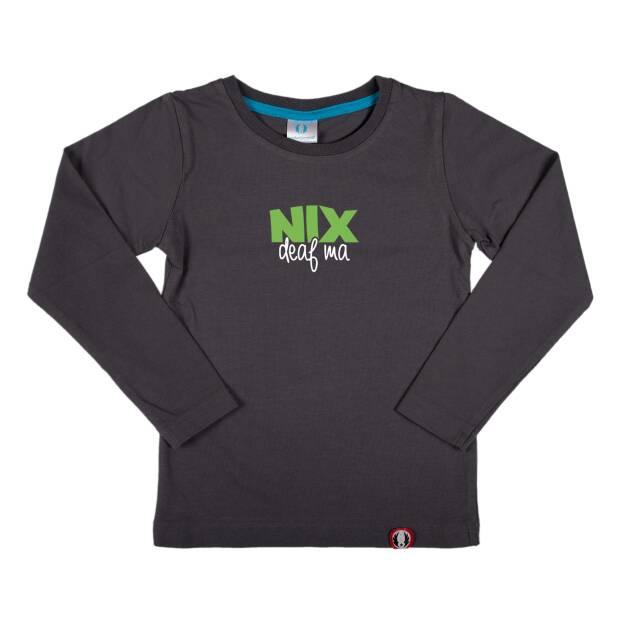 Shirt langarm Nix deaf ma