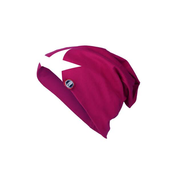 Mütze pink Stern