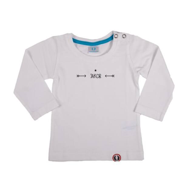 Shirt langarm Pfeile